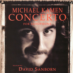 43. Concerto for saxophone Michael Kamen