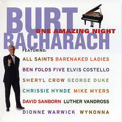 85. One amazing night Burt Bacharach